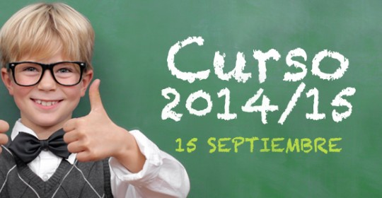 Comienzo curso 2014/15