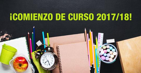 Comienzo Curso 2017/18