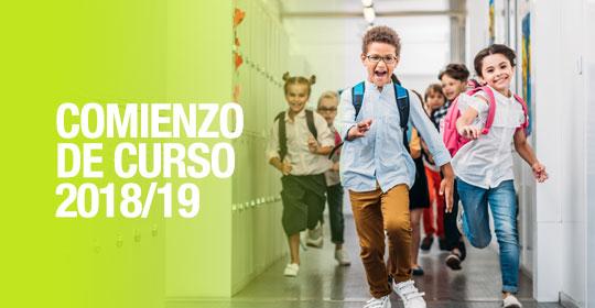 Comienzo Curso 2018/19